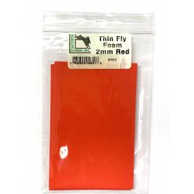 FLY FOAM PISCATOR ROJO 2 M/M