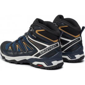 ZAPATO SALOMON X ULTRA 3 MID GTX SARGASSO SEA