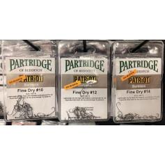 ANZUELO PARTRIDGE PATRIOT FINE DRY