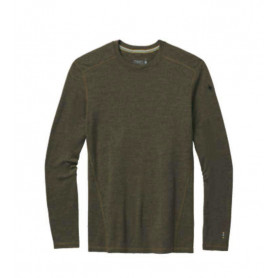 CAMISETA SMARTWOOL MILITARY OLIVE HEATHER 250G/M^2