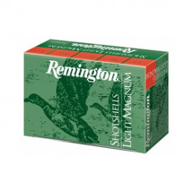 CARTUCHO REMINGTON SHOTSHELLS LIGHT MAGNUM PERDIGÓN NÚMERO 10