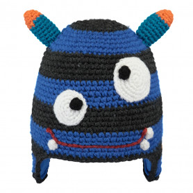 GORRO BARTS MONSTER BEANIE BLUE