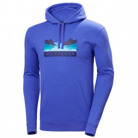 SUDADERA HELLY HANSEN NORD GRAPHIC PULL OVER HOODIE ROYAL