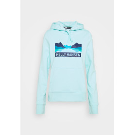 SUDADERA NORD GRAPHIC PULLOVER HOODIE GLACIE MUJER