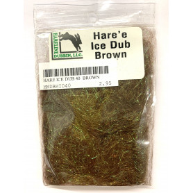 HARE ICE DUBBING 40 BROWN